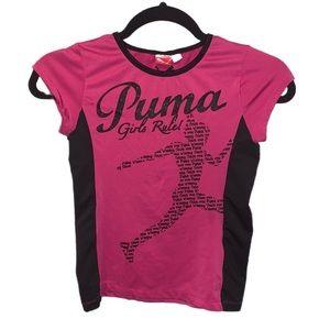 PUMA Girls Rule Athletic Top - M